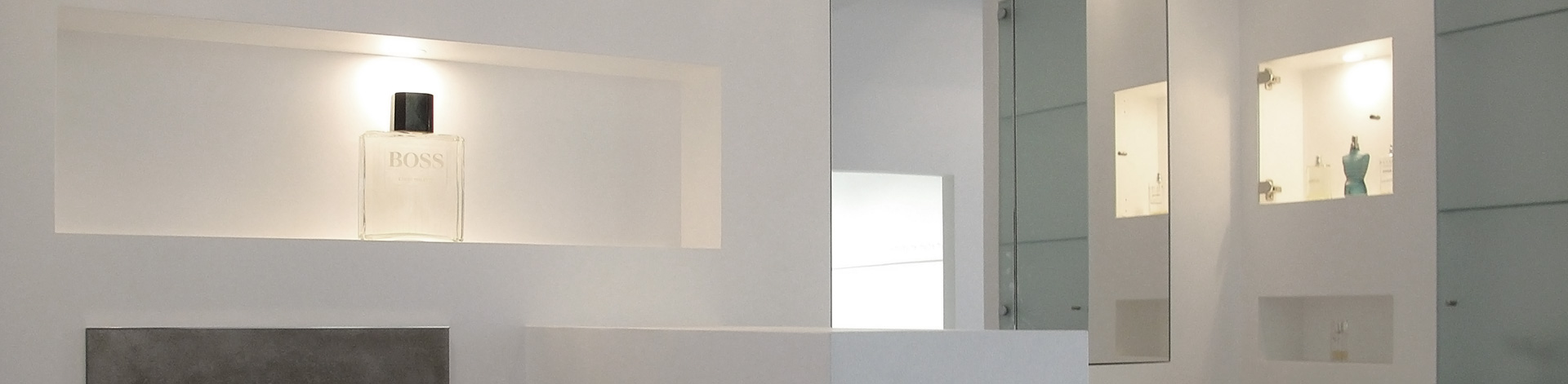 Badezimmer-Nischen - Introbau